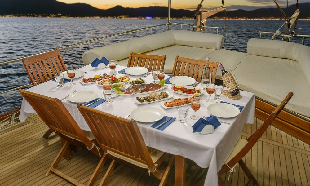 Laila Deniz gulet marmaris yacht charter light tours blue cruise yachts,Light Tours Blue Cruise, Gulet Charter, Yacht Charter 2406