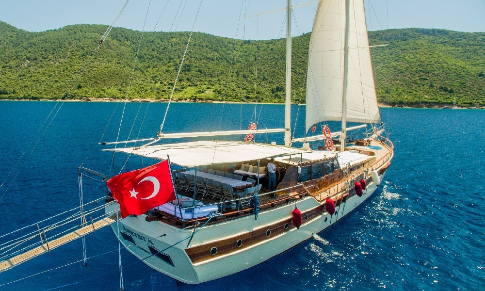 Ametist A fethiye yacht rental, light tours rental boats, blue cruise trip,Light Tours Blue Cruise, Gulet Charter, Yacht Charter,Boat Rental For Amethyst 2616