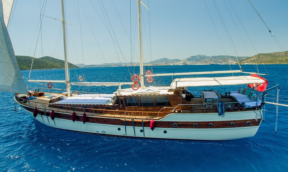 Ametist A fethiye yacht rental, light tours rental boats, blue cruise trip,Light Tours Blue Cruise, Gulet Charter, Yacht Charter,Boat Rental For Amethyst 2612