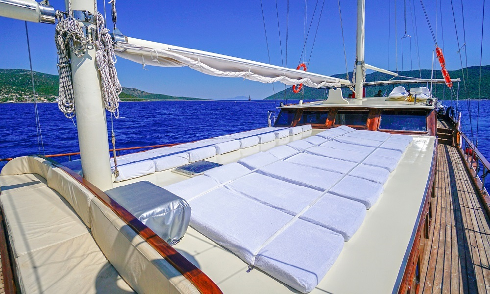 Ametist A fethiye yacht rental, light tours rental boats, blue cruise trip,Light Tours Blue Cruise, Gulet Charter, Yacht Charter,Boat Rental For Amethyst 2607