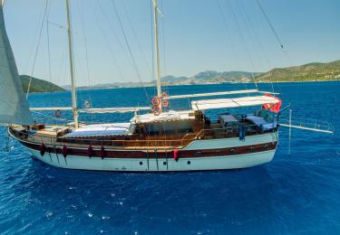 Ametist A fethiye yacht rental, light tours rental boats, blue cruise trip,Light Tours Blue Cruise, Gulet Charter, Yacht Charter,Boat Rental For Amethyst 2615