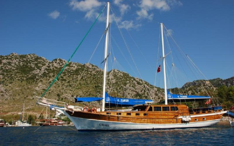 C Taner marmaris rental yacht, light tours yacht rental, gulet rental, blue cruise,Light Tours Blue Cruise, Gulet Charter, Yacht Charter,Göcek Motor Sailer 2645
