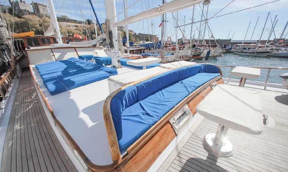 Sultan A bodrum rental boat, light tours blue cruise trip, rental yachts,Light Tours Blue Cruise, Gulet Charter, Yacht Charter 2658