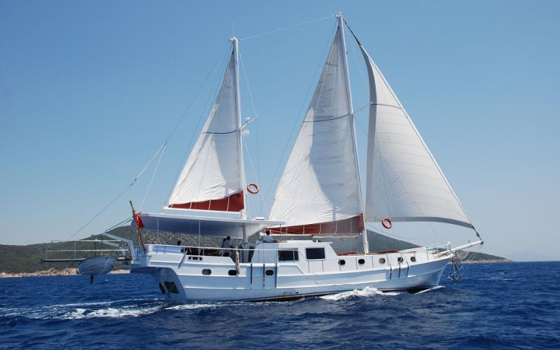 Blue Diamond bodrum rental yachts, blue cruise trips, boat trips,Light Tours Blue Cruise, Gulet Charter, Yacht Charter,Bodrum Motor Sailor For Rent 2692