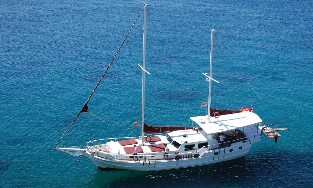 Blue Diamond bodrum rental yachts, blue cruise trips, boat trips,Light Tours Blue Cruise, Gulet Charter, Yacht Charter 2691