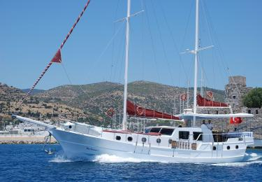 Blue Diamond bodrum rental yachts, blue cruise trips, boat trips,Light Tours Blue Cruise, Gulet Charter, Yacht Charter 2693