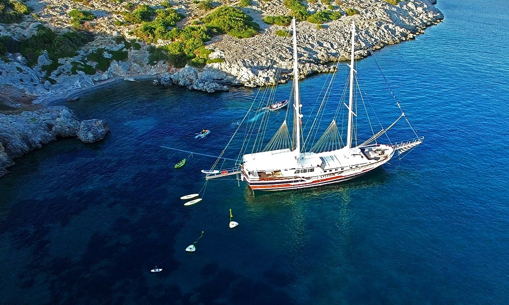 Kanaryam bodrum, rental yacht, rental boat, light tours yachts,Light Tours Blue Cruise, Gulet Charter, Yacht Charter,Bodrum Blue Cruise 2704