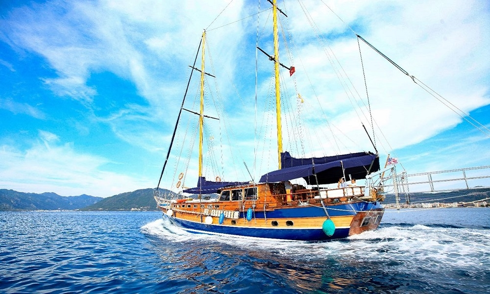 Elif Nil, marmaris yacht rental, boat rental, light tours yachts, blue cruise trip,Light Tours Blue Cruise, Gulet Charter, Yacht Charter 2721