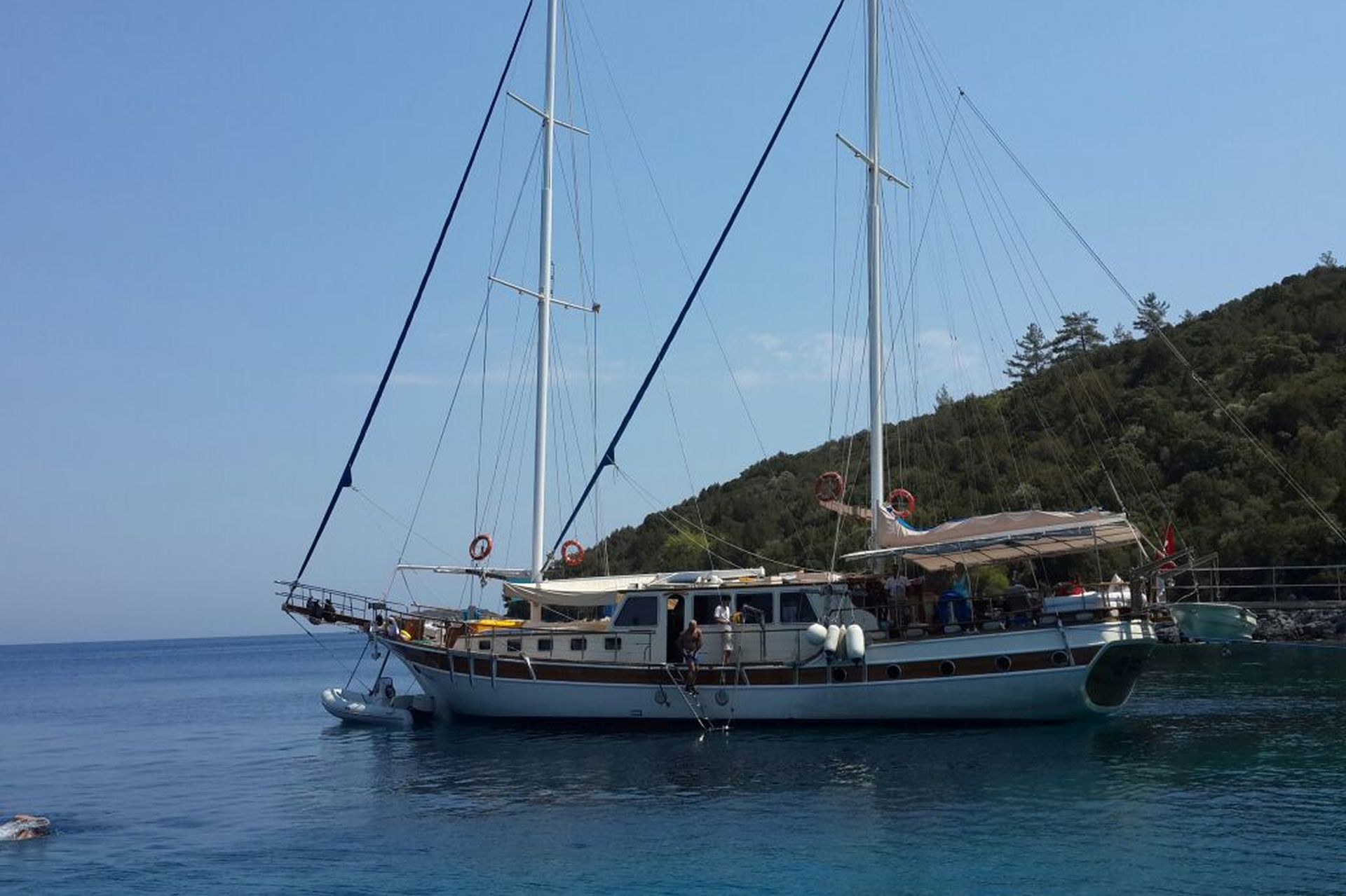 Tufan 5 gulet, light tours yachts fethiye blue cruise trip,Light Tours Blue Cruise, Gulet Charter, Yacht Charter,Bodrum Yachting 2748