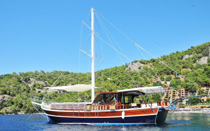 Holiday M,Light Tours Blue Cruise, Gulet Charter, Yacht Charter,Yacht Charter Turkey 28