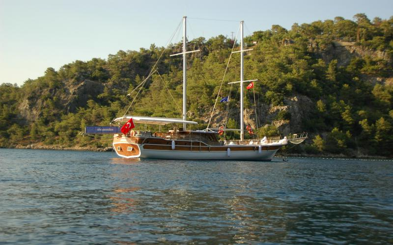 Holiday VI (Holiday 6),Light Tours Blue Cruise, Gulet Charter, Yacht Charter,Göcek Motor Sailer 42