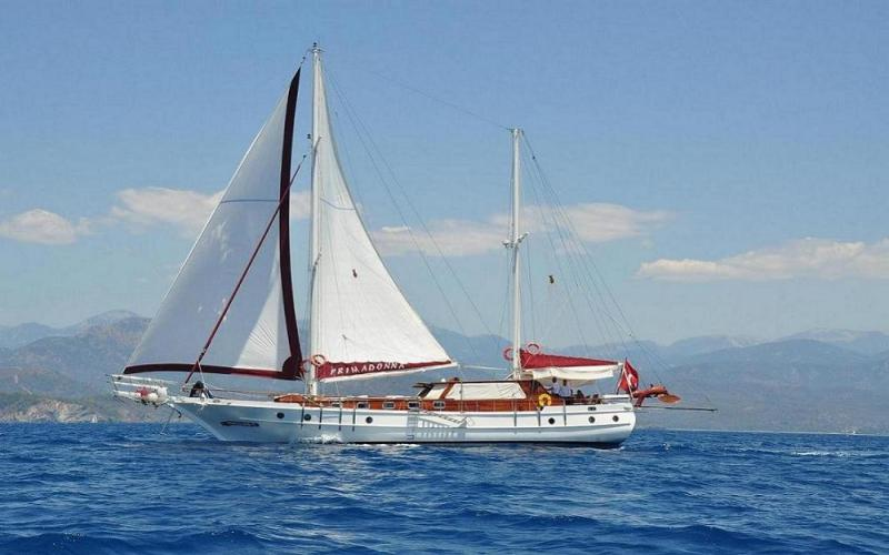 Primadonna light tours fethiye gulet rental,Light Tours Blue Cruise, Gulet Charter, Yacht Charter,Yacht Charter Turkey 753