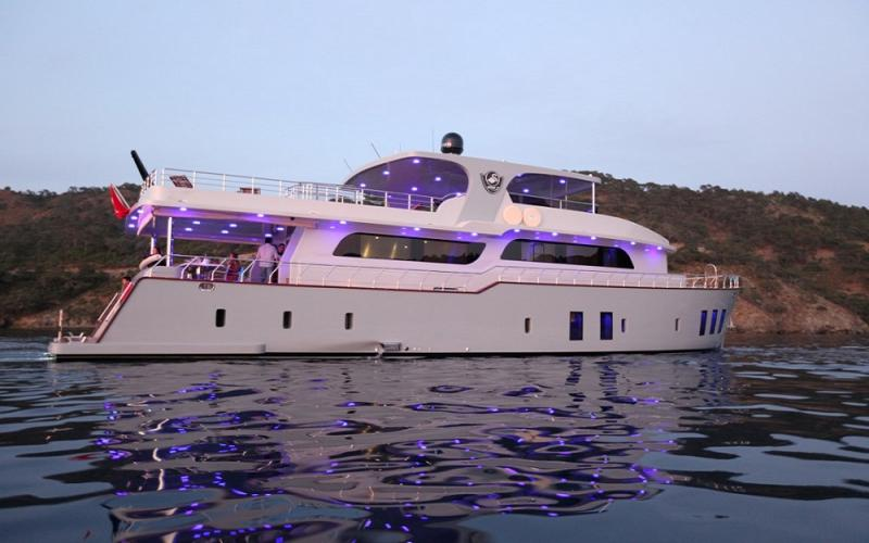 Simay F,Light Tours Blue Cruise, Gulet Charter, Аренда яхт,Аренда трассы Gocek 73