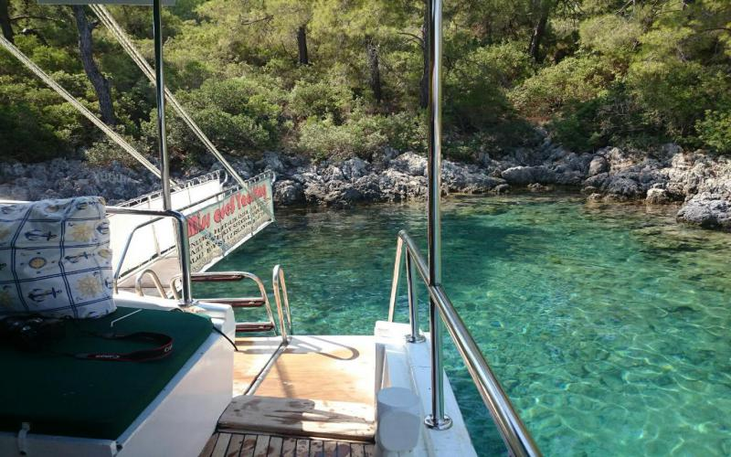 Miss Ades for rent gulet fethiye basement gocek marmaris light tours