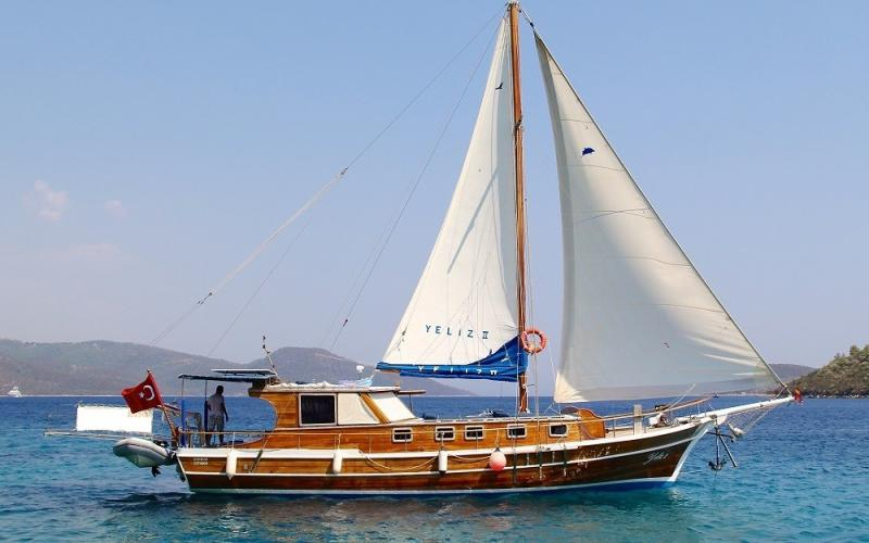 Yeliz 2 gulet fethiye light tours yachts rental gulet
