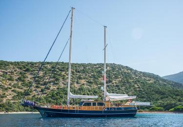 Dea Delmare gulet marmaris rental fethiye light tours yachts