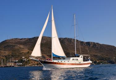 Oğuz 5 Bodrum gulet light tours gulet charter, blue cruise tour