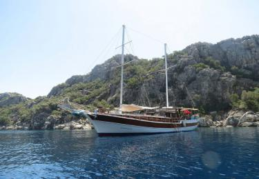 Emma Rosa Marmaris gulet rental light tours blue cruise tour
